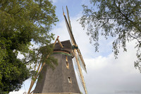 Profile of the Vriendschap windmill - Weesp, Netherlands