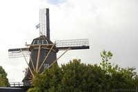 Another view of the Eendragt windmill - Weesp, Netherlands
