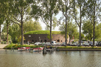 The tower-fortress at the Ossenmarkt - Weesp, Netherlands