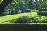 The Hedge Garden adjacent to the Maze Garden - Lisle, United States