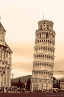 The Tower of Pisa in infrared - Pisa, Italy