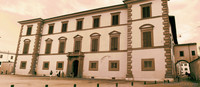 Archiepiscopal Palace in infrared - Pisa, Italy