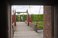 Entrada de Muiderslot - Muiden, Países Bajos
