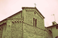 Dettaglio della chiesa di San Sisto - Pisa, Italia