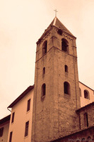 Torre della chiesa di San Sisto - Pisa, Italia