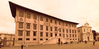 Scuola Normale Superiore in infrared - Pisa, Italy