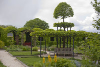 Historic gardens of Muiderslot - Muiden, Netherlands