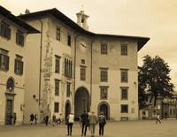 Palazzo dell'Orologio nella Piazza dei Cavalieri a Pisa - Pisa, Italia