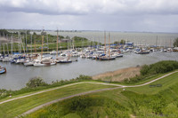 Vessels at the Royal Netherlands Yacht Club next to Muiderslot - Muiden, Netherlands