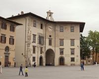 Palazzo dell'Orologio à piazza dei Cavalieri - Pise, Italie