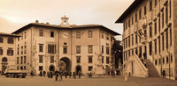 Clock Palace in Piazza dei Cavalieri - Pisa, Italy