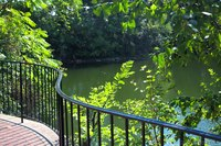 Terrace next to the lake - Naperville, United States