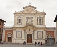 Façade de l'église Saint-Étienne des Chevaliers de Pise - Pise, Italie