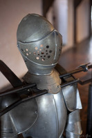 Helmet of a Dutch child armour - Muiden, Netherlands