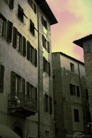 Buildings in the center of Pisa - Pisa, Italy