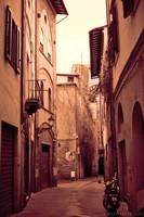 A street in the Santa Maria quarter of Pisa - Pisa, Italy