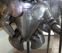 Dutch knight suit of armour - Muiden, Netherlands