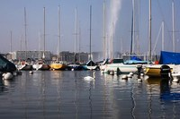 Boats and Jet d'Eau - Geneva, Switzerland