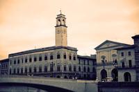 Il Palazzo Pretorio e la Torre dell'Orologio - Pisa, Italia