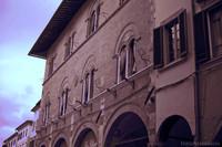 Palazzo Poschi in infrared - Pisa, Italy