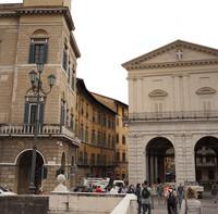 Piazza XX Settembre ou piazza de l'Horloge - Pise, Italie