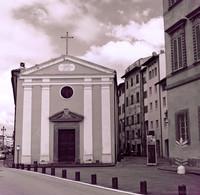La chiesa di Santa Cristina nella riva dell'Arno - Pisa, Italia