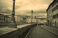 Lungarno Gambacorti - Pisa, Italy