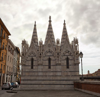 Église Santa Maria della Spina - Pise, Italie