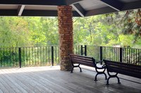 Elevated terrace in Riverwalk - Naperville, United States