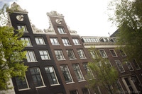 Houses along the canals of Amsterdam - Amsterdam, Netherlands