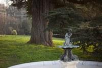 Fountain of La Grange Park - Geneva, Switzerland