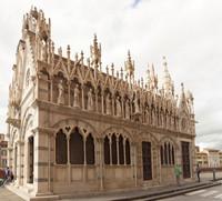 Façade latérale de Santa Maria della Spina - Pise, Italie