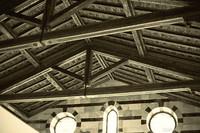 Soffitto della chiesa di Santa Maria della Spina - Pisa, Italia