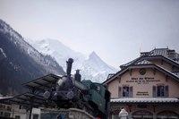 Stazione Montenvers-Mer de Glace a Chamonix - Chamonix, Francia