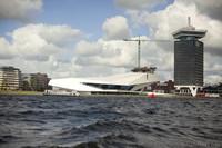 EYE Filmmuseum on the northern bank of the IJ - Amsterdam, Netherlands