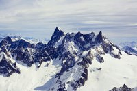 The Grandes Jorasses - Chamonix, France