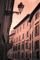 A street of Pisa in infrared - Pisa, Italy