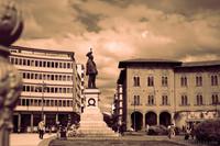 Vittorio Emanuele II square in Pisa - Pisa, Italy