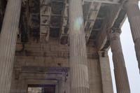 Erechtheion interior - Athens, Greece