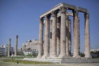 Temple of Olympian Zeus - Athens, Greece