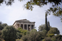 Temple of Hephaestus in the Ancient Agora of Athens - Athens, Greece