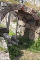 Themistocles' Sacred gate in Kerameikos - Athens, Greece