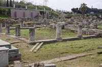 Southeast end of the Pompeion in the Kerameikos necropolis - Athens, Greece