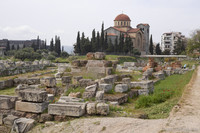 Archaeological site of Kerameikos - Athens, Greece