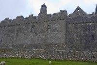 Rock of Cashel walls - Cashel, Ireland