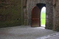 Rock of Cashel Cathedral Nave - Cashel, Ireland