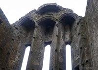 Lancet windows of the Rock of Cashel's Cathedral - Cashel, Ireland