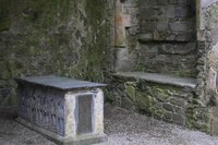 Tomb in the North Transept - Cashel, Ireland