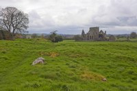 Hore Abbey from afar - Cashel, Ireland