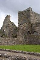 Hore Abbey from the cloister garth - Cashel, Ireland